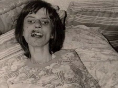 Anneliese Michel, deep into the possession