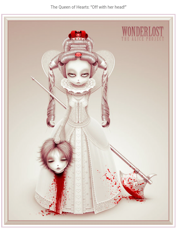 Wonderlost Art: The Alice Project + Twisted Fairy Tales ...