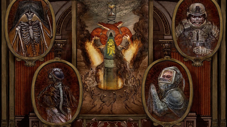 Artist Spotlight Post Apocalyptic War Art Undead Creatures