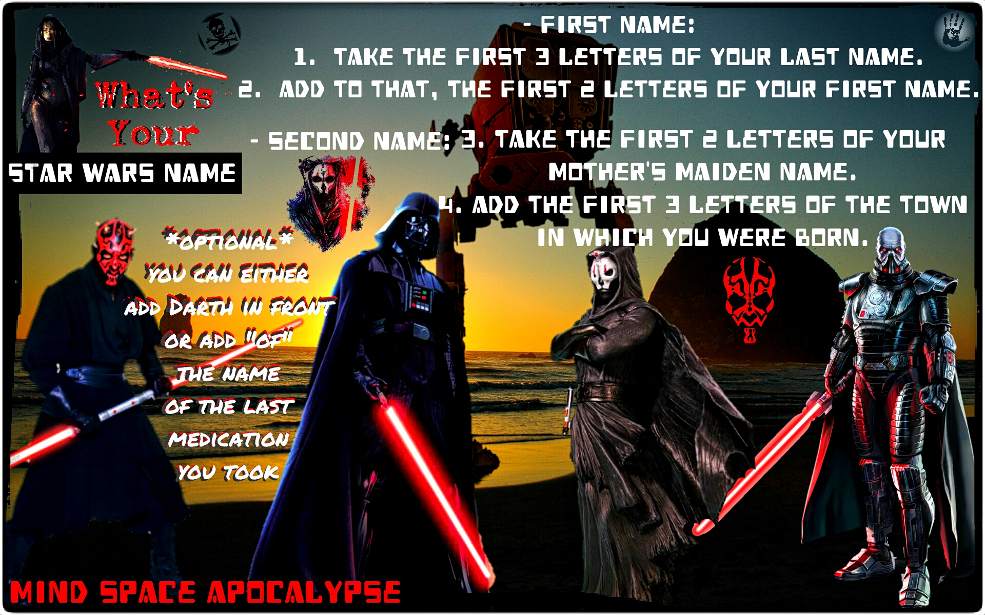 Name Generators – Mind Space Apocalypse