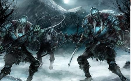 Skeleton Warrior Fantasy Art
